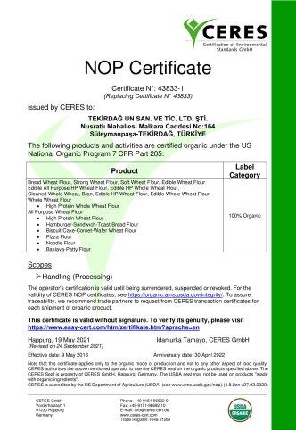 ORGANIC CERTIFICATE NOP 2021 r1