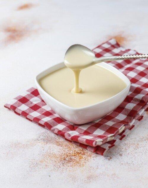 Types de crème et de sauce